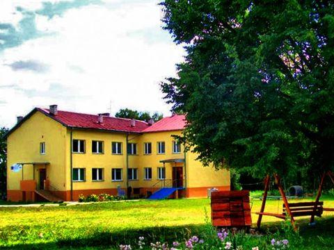 Zdjęcia z ośrodka w Pałęgach: Widok budynku