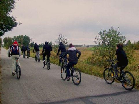 Zdjęcia z ośrodka w Pałęgach: Rajd rowerowy szlakiem Green Velo