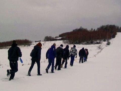 Zdjęcia z ośrodka w Pałęgach: Podczas wędrówki w Górach Świętokrzyskich